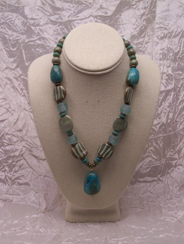 Tribal Beads And Vintage Crystal Resin Recycled Glass Personal Adornment That Expresses Your Sense Of Style Terra Nova Fine Art Jewelry Playful