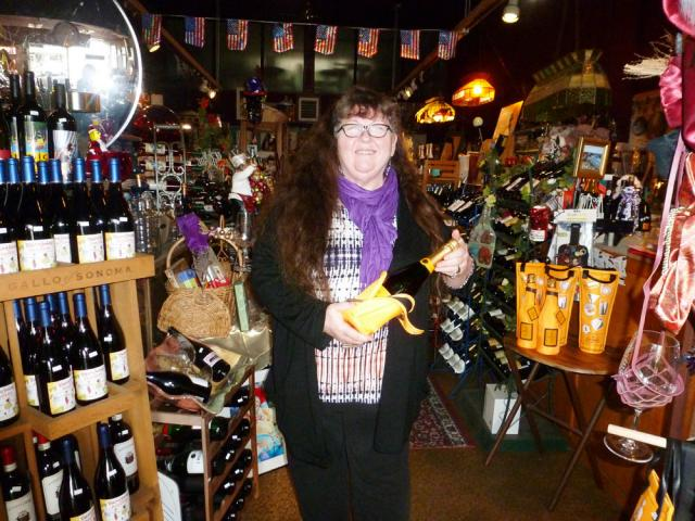 70b745a0ab Photo Caption: Tamara Landrum has been the owner and sole proprietor of  Oregon Wine Cellars since 1993.